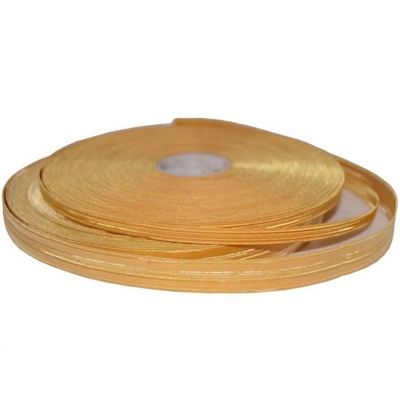 7 mm - Gullbånd - Tresse