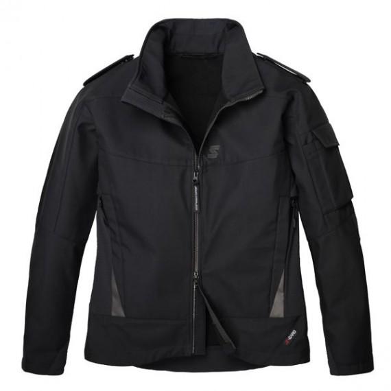 Uniformsjakke med klaffer - Svart - Vindtett - S-Gard Officer Pro