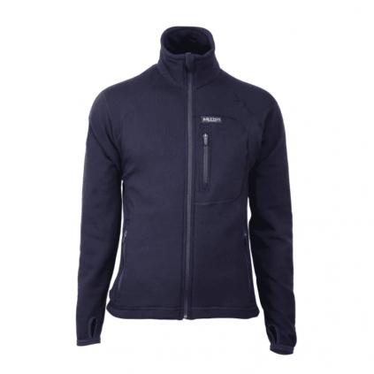 Ullfrotté jakke - Brynje - Flammehemmende - Marineblå