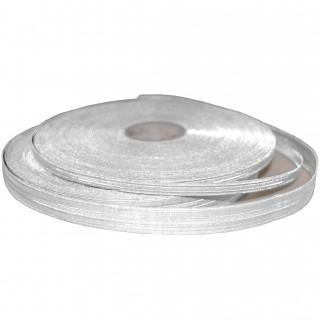 7 mm - Sølvbånd - Tresse