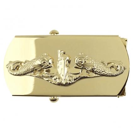 Beltespenne med ubåt motiv