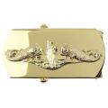 Ubåt - Beltespenne i gull - Forsvaret