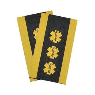 Ambulanse - 3 stjerner og slitekant - Regionleder/Områdeleder - Distinksjoner