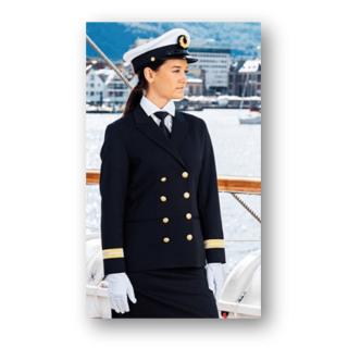 Uniformjakke Offiserjakke Med distinksjoner og striper