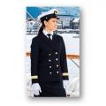 Uniformjakke - Offiserjakke - Med distinksjoner og striper - Dame