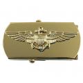 Pilot - Aviator - Beltespenne i gull - Forsvaret