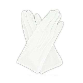Hvite hansker til uniform - Bomull