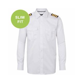 Slimfit Uniformskjorte fra danske Olino