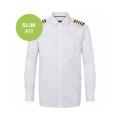 Uniformskjorte - Slim fit - Lang erm - Herre - Olino