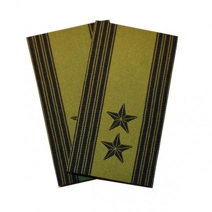 Oberstløytnant - Grønn felt hær - Forsvaret