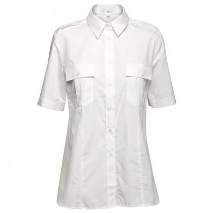 Uniformskjorte - Dame - «Lyon»  - Kort erm - Olino