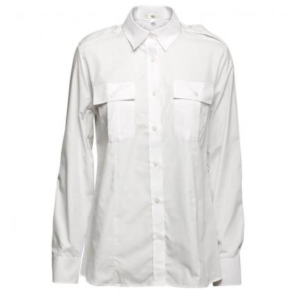 Uniformskjorte - Dame - «Lyon» - Lang erm - Olino