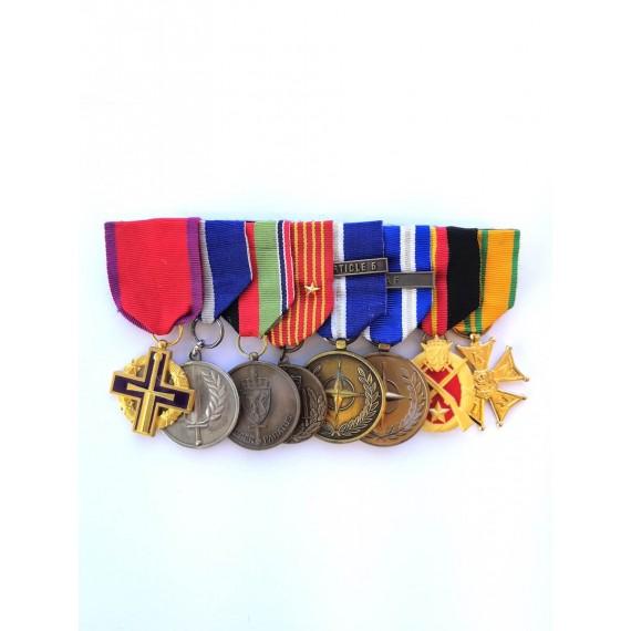 Medaljemontering