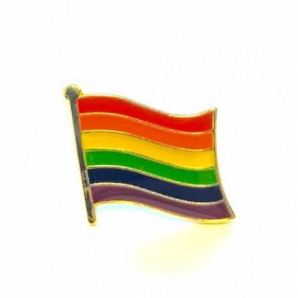 Pins - Flagg - Pride - Regnbue