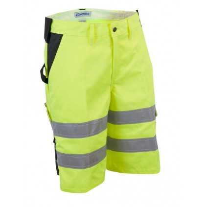 Shorts - Synlighet KL 1 - Fluoriserende gul - Wenaas
