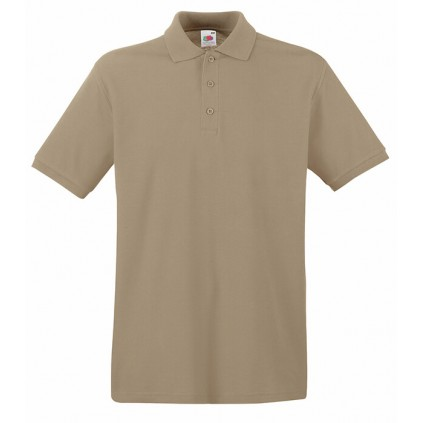 Piquet - Premium Polo - Fruit - Khaki