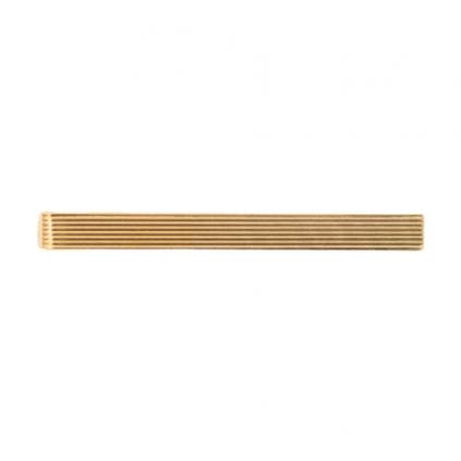 Slipsnål - Slipslås - Ribbet gull