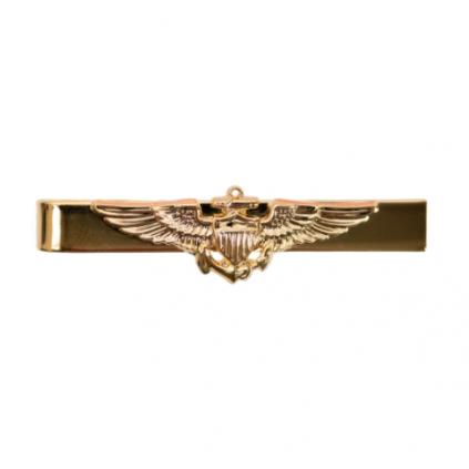 Slipsnål - Slipslås - Navy Aviator - Gull