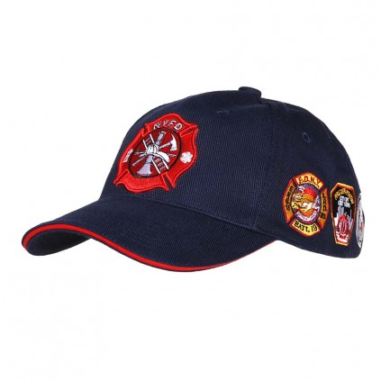 NYFD - Baseball caps - Marineblå