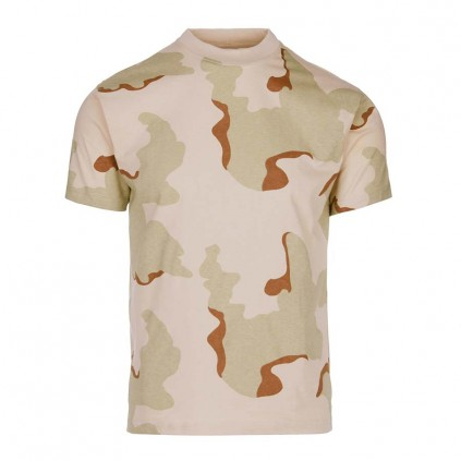 T-skjorte - Fostex - Kamuflasje ørken
