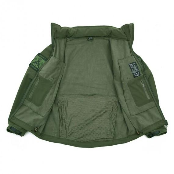 Softshell jakke - 101 INC - Grønn