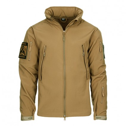 Softshell jakke - 101 INC - Khaki