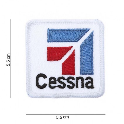 Patch - Cessna logo hvit