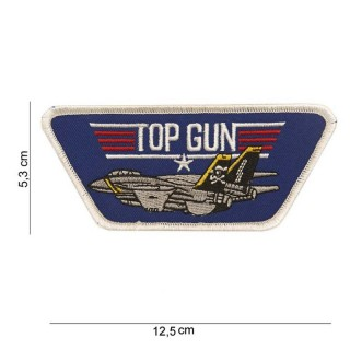 Patch - TopGun logo blå