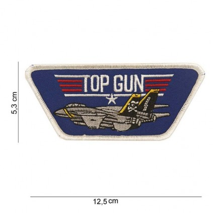 Patch - TopGun logo blå