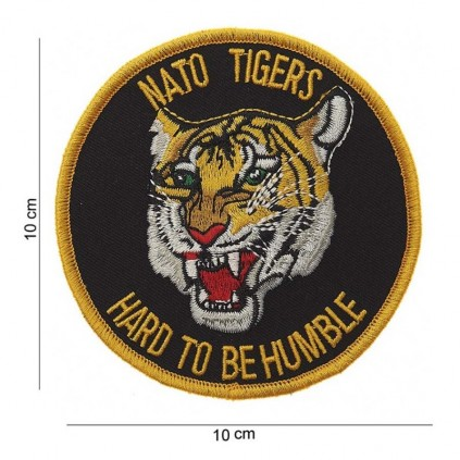 Patch - Nato Tigers - Hard to be humble