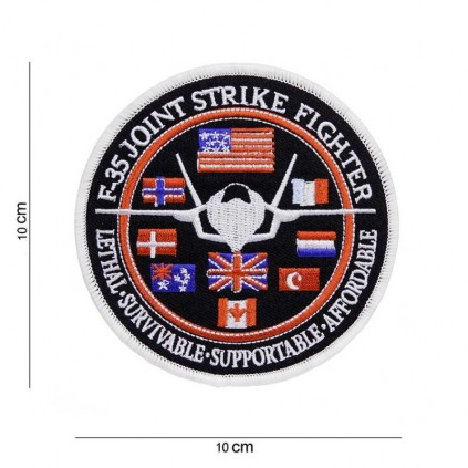 Patch - F-35 Joint Strike Fighter - Flagg