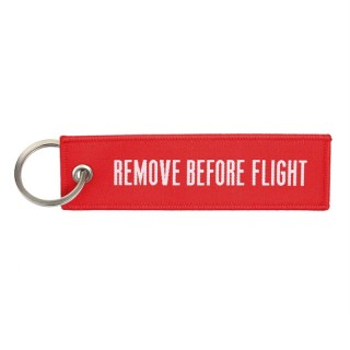 Nøkkelring - Remove before flight - Rød