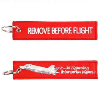 Nøkkelring - Remove before flight - F-35 Joint Strike Fighter
