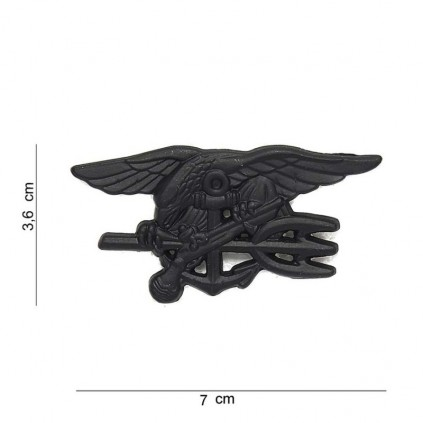 Merke / Pin - US Navy Seals - Sort