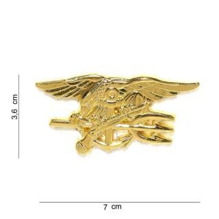 Merke / Pin - US Navy Seals - Gull - Stor