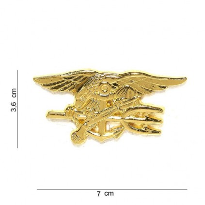 Merke / Pin - US Navy Seals - Gull - Stor