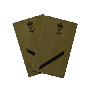 OR2 Visekonstabel - Sjøforsvaret grønn felt