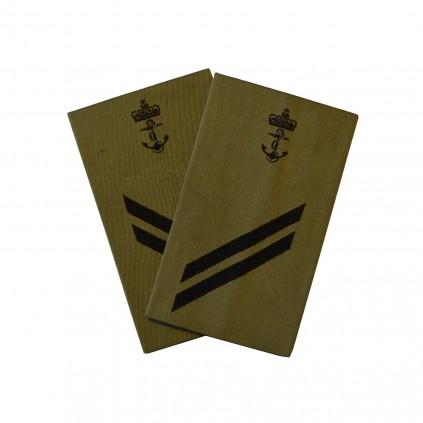 OR3 Ledende visekonstabel - Sjøforsvaret grønn felt