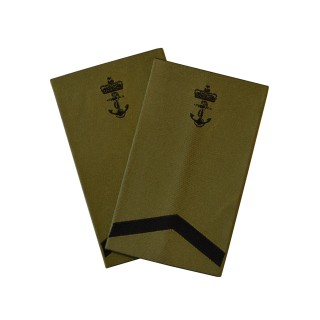 OR5 Kvartermester - Sjøforsvaret grønn felt