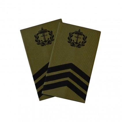 OR7 Sjefsmester - Sjøforsvaret grønn felt