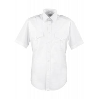 Skjorte med kort erm - Selje - Hvit