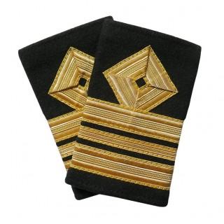 Overstyrmann Jr. - Skipsfart dekk - 2,5 stripe - Distinksjoner