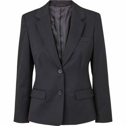 Blazer - Dame - Uniformjakke - Geneva - Olino - Sort