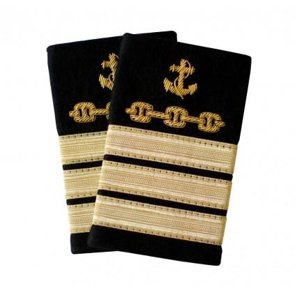 Havnevesen/VTS - 3 striper - Ass. havnekaptein - Distinksjoner
