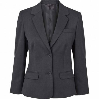 Blazer - Dame - Uniformjakke - Geneva - Olino - Mørk grå