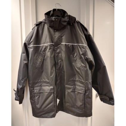 Allværsjakke - Uniformjakke med for - Sort