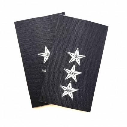 Kaptein - Luftforsvaret - Mørk blå - Distinksjoner