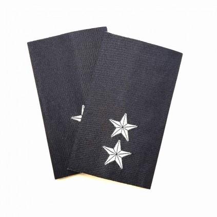 Løytnant - Luftforsvaret - Mørk blå - Distinksjoner