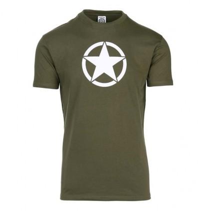 T-skjorte - Fostex - Grønn med hvit stjerne