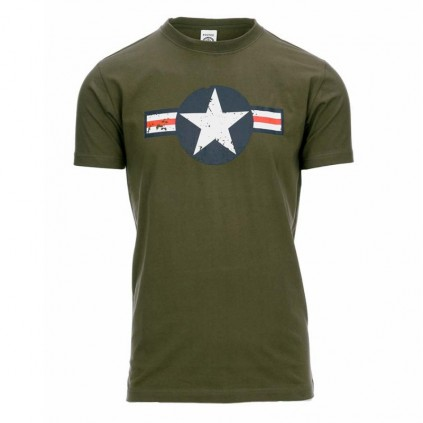 T-skjorte - Fostex - USAF WW 2 - Grønn